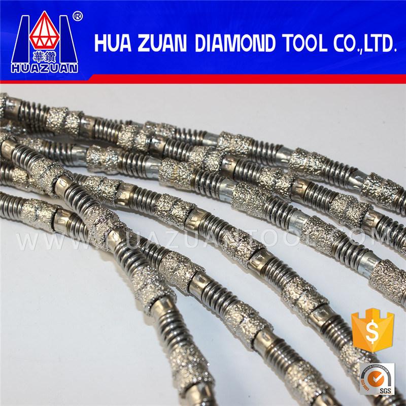 Aggressive Vacuum Brazed Diamond Wire Saw
