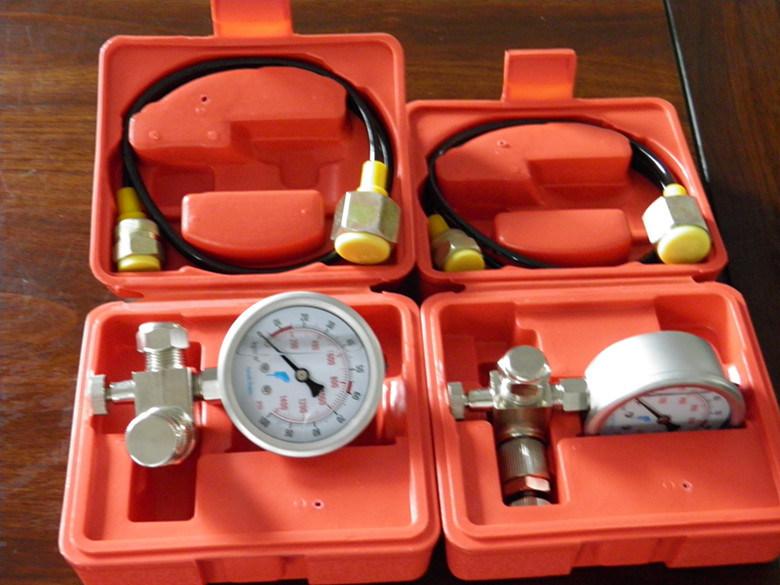 Hydraulic Breaker Air Charging System