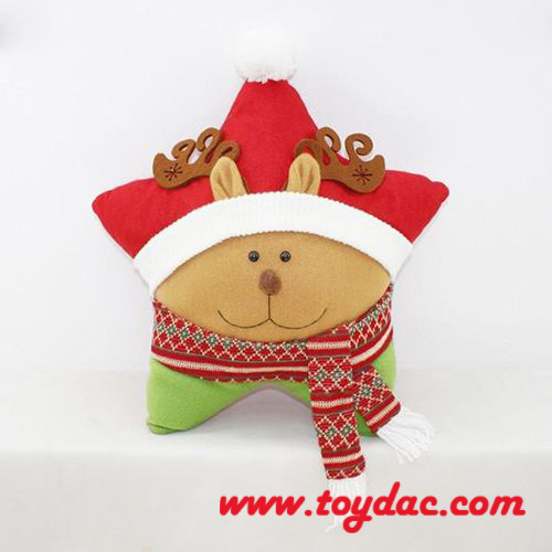 Plush Christmas Santa Cushions