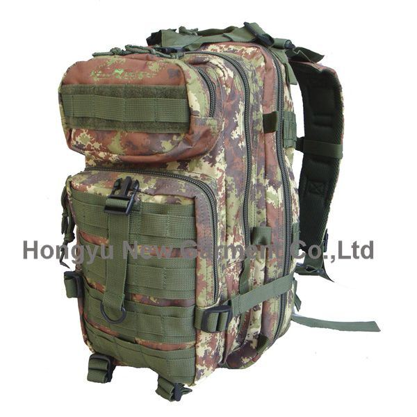 Woodland Camouflage Military Hiking Tactical Backpack