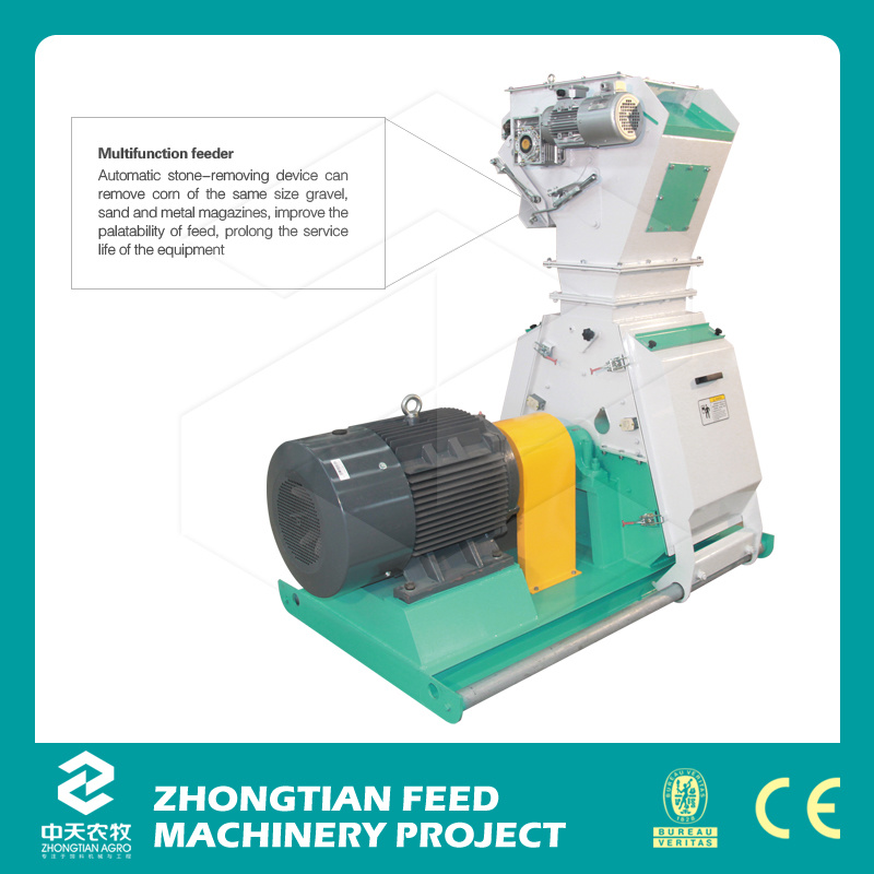 Animal Feed Machine/Griding /Automatic Hammer Mill Feed Grinder