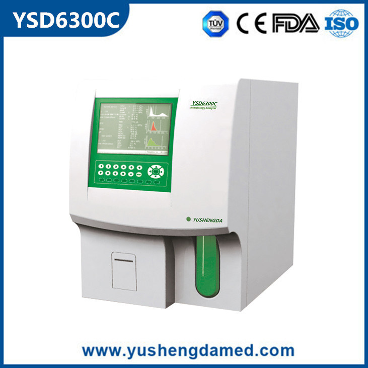 3-Part Diff Hospital Medical Equipment Full-Automatic Hematology Analyzer