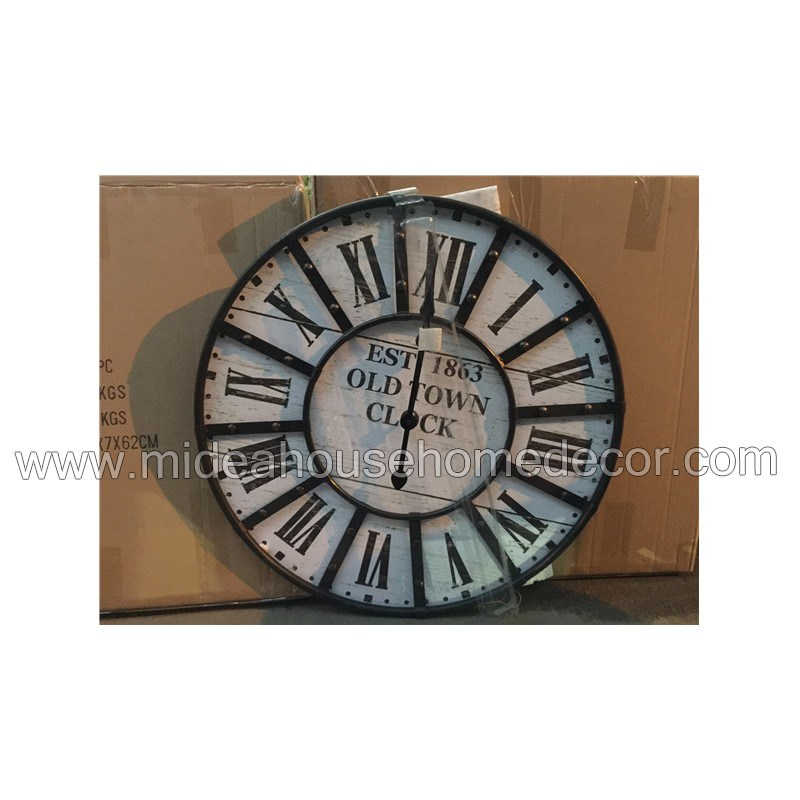 Home Decoration Cutomized Logo Wooden Wall Clock