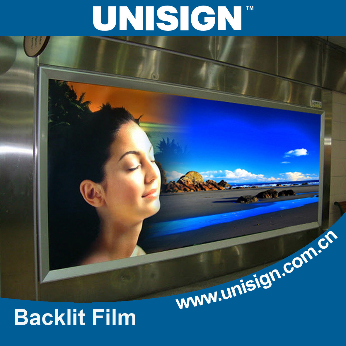 Backlit Fim for Inkjet Printing, Plastic Film for Inkjet Printing
