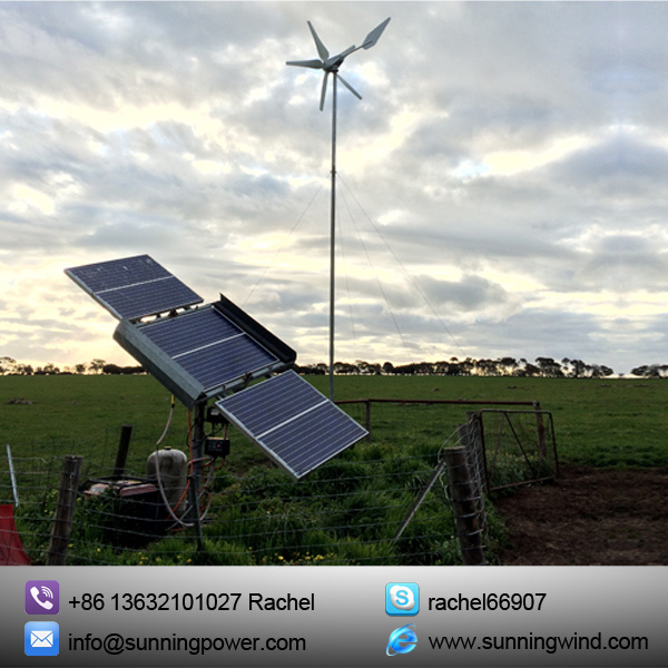 2016 Wind Hybrid Solar Power System for Monitoring