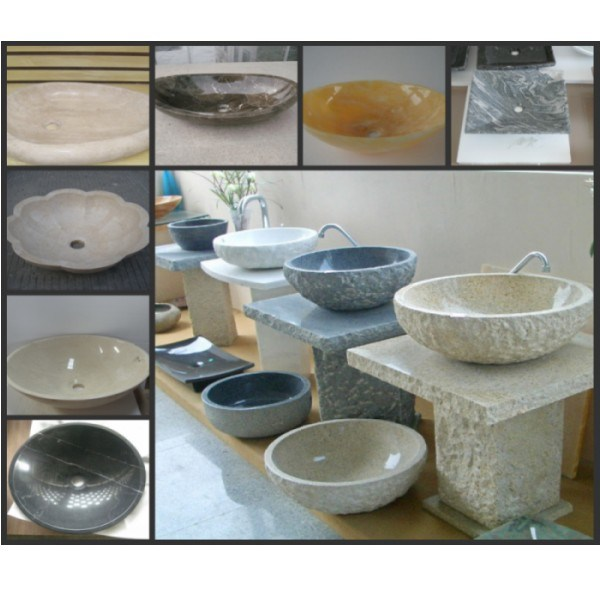 All Kind of Stone Sink for Bathroom