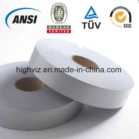 Silver T/C Reflective Tape with 100 Circles Wash (1001-3)