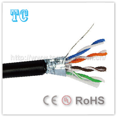 Ce Certificate Cat 5e Outdoor Network Cable