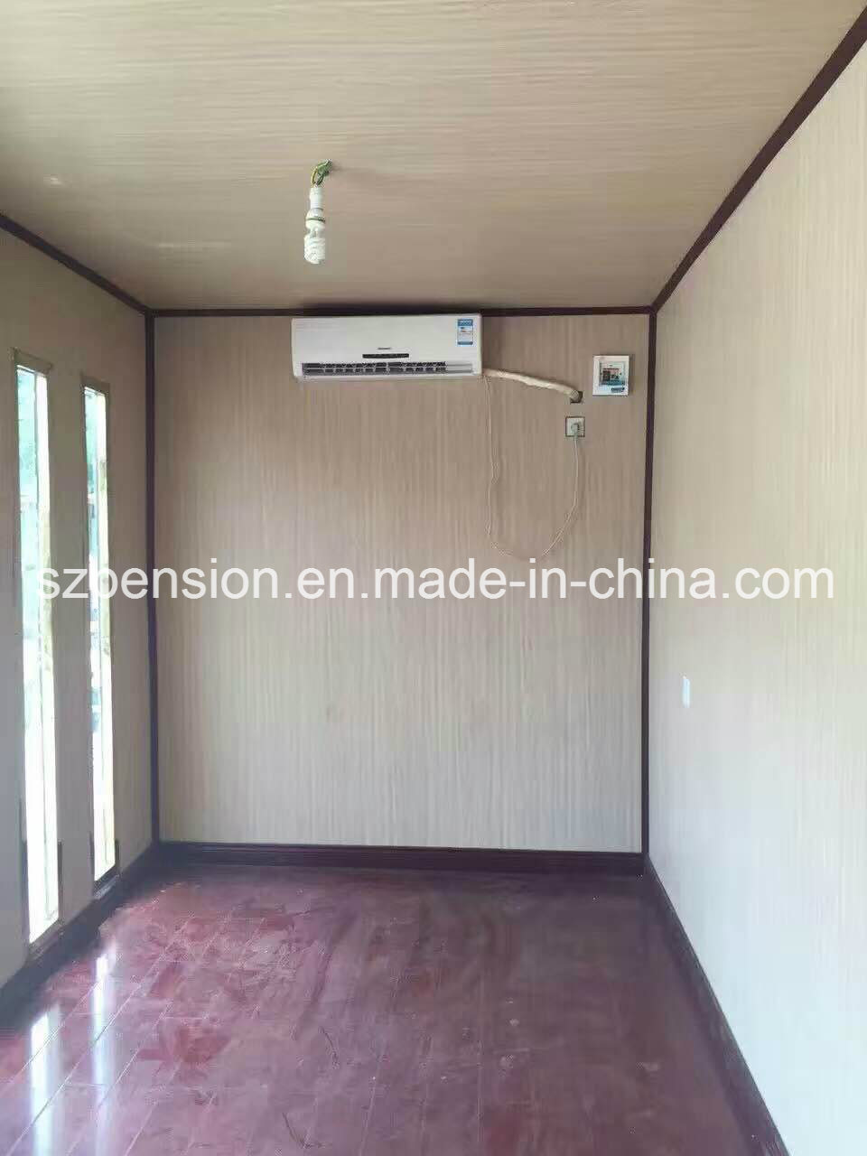 Leisure Life Modern Modified Container Prefabricated/Prefab Sunshine Room/House