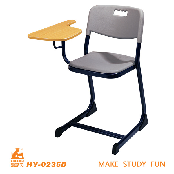 Plastic Student Chair with Tablet of Classroom Furniture
