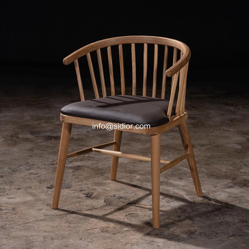 (SL-8114) Modern Hotel Restaurant Dining Furniture Wood Restaurant Chair