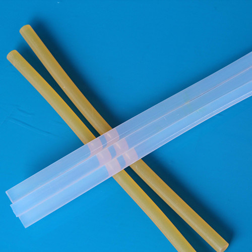 Silicone Glue Stick with Transparent Color