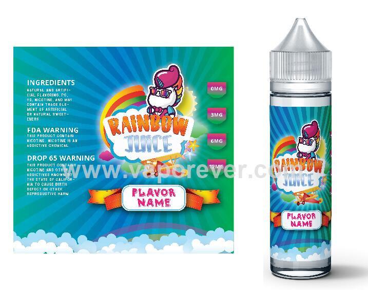 USA Fresh 60ml E Liquid / E Juice for E Cig Mod Organic Premium Wholesale Vaporever Juice Vaping Juice