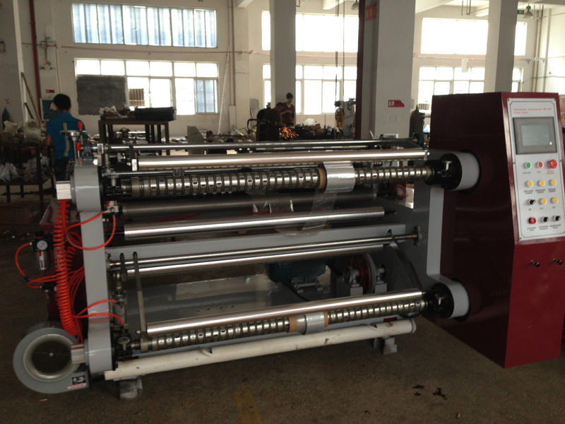 PLC Horizontal Paper and Film Slitting Machine