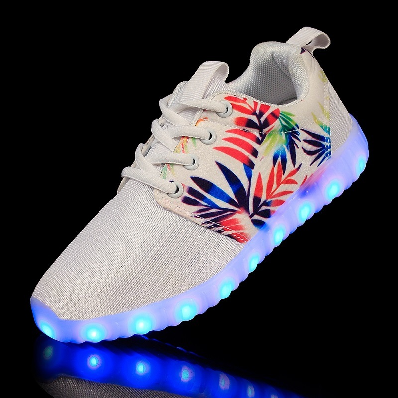 2016 New USB LED Light Luminous Shoes Sneaker LED Shoe Light