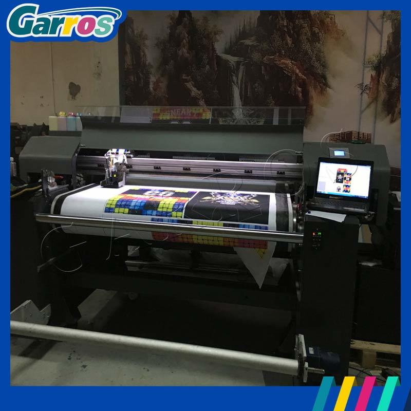 8 Color Dx5 Head 3D Digital Textile Printer Garros Roll to Roll Inkjet Printer for Cotton/Silk/Nylon