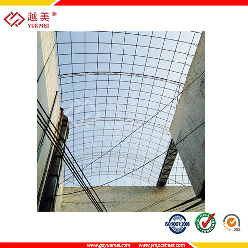 UV Blocking Clear Hollow Polycarbonate Sheet for Building Material