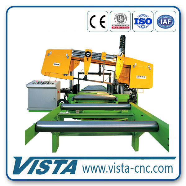 CNC Metal Cutting Band Saw Machine for Hbeam Box Beam Ubeam
