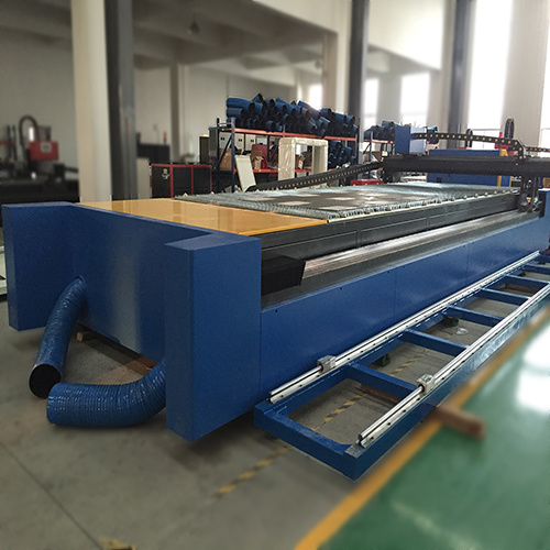 500W Fiber Laser Cutting and Pipe Slotting Machine