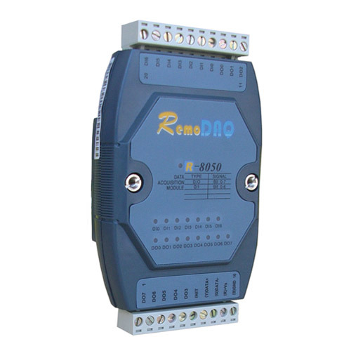 R-8050/R-8050+ 7-Channel Digital Input/ 8-Channel Open Collector Output Module