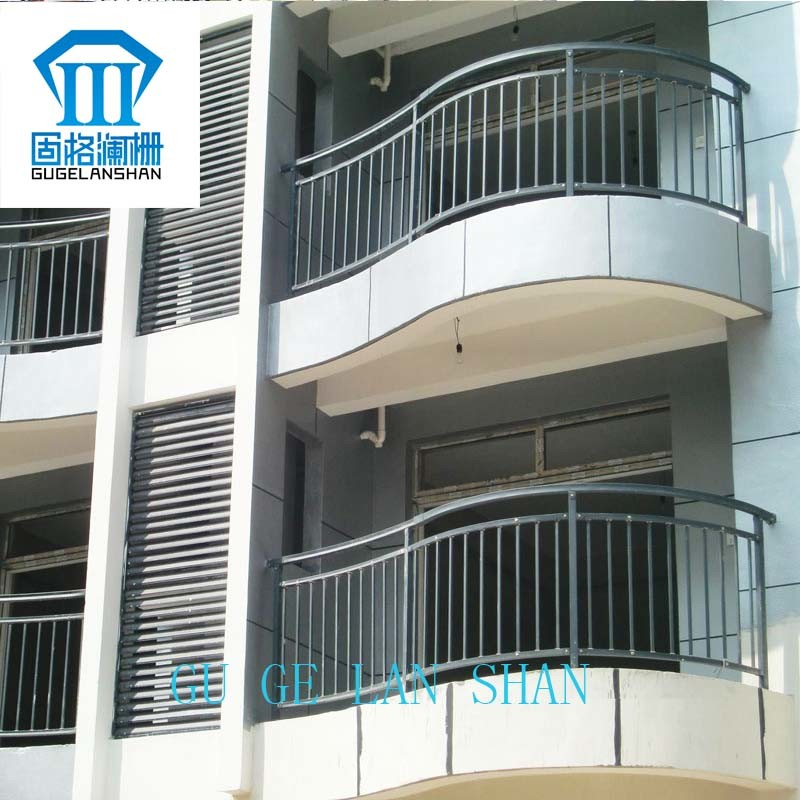 High Quality Wrought Zinc Steel Balcony Guardrail 025