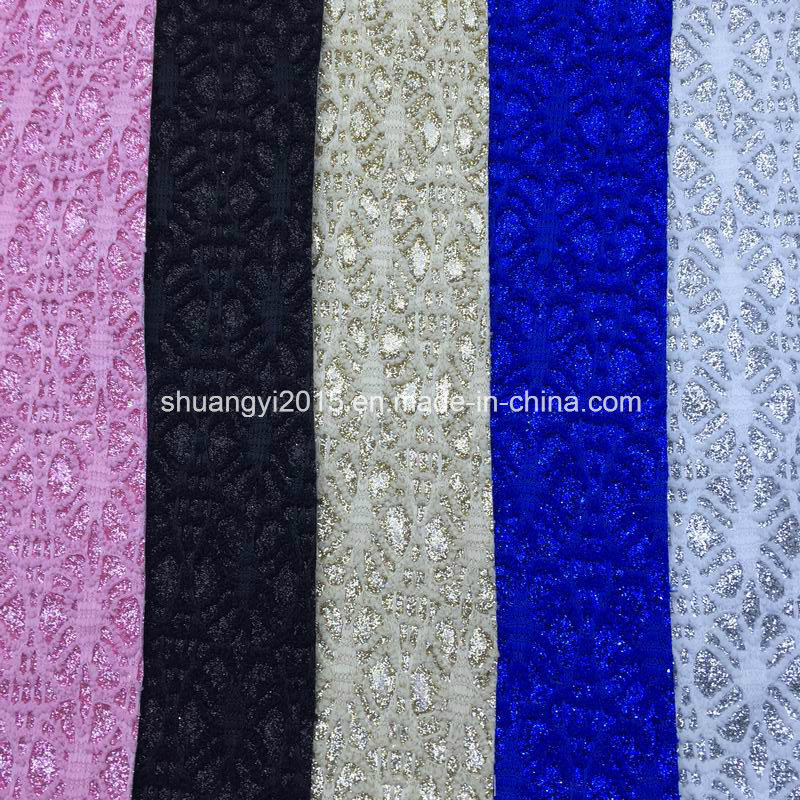 Fashion Glitter Synthetic Leather for Shoes Bags