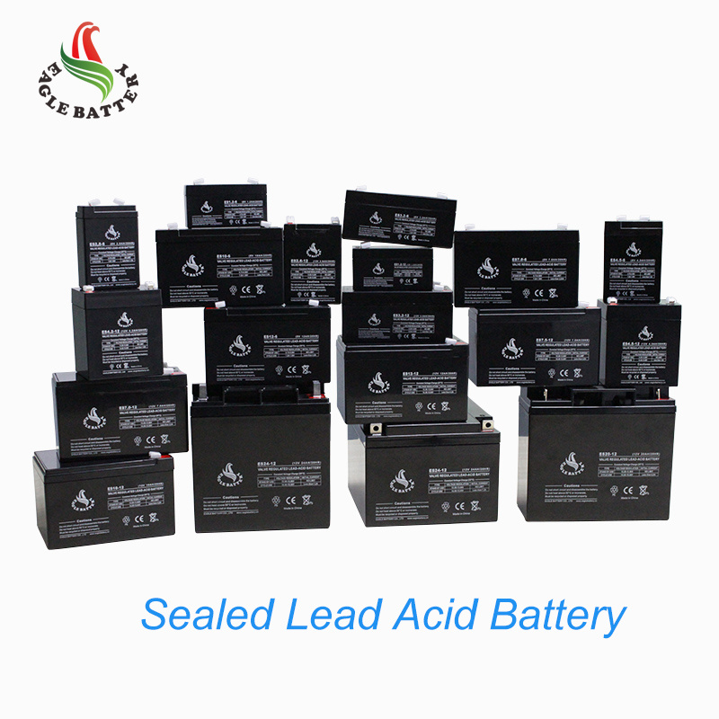 6V 7ah Storage Lead Acid Battery with AGM