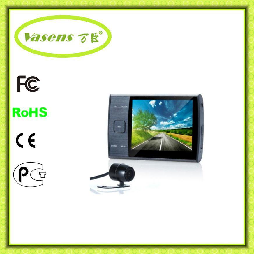 2 Camera Full HD 1080P Car Camcorder