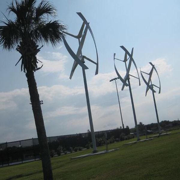 5000W Darrieus Wind Turbine Generator with on Grid Controller&Inverter