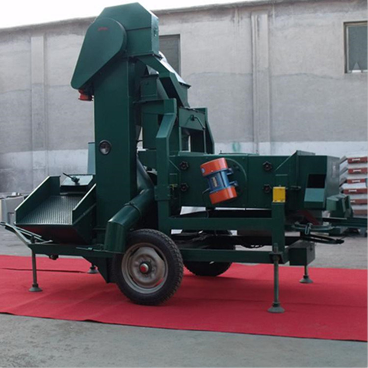Maize Seed Cleaner and Grader Install Thresher