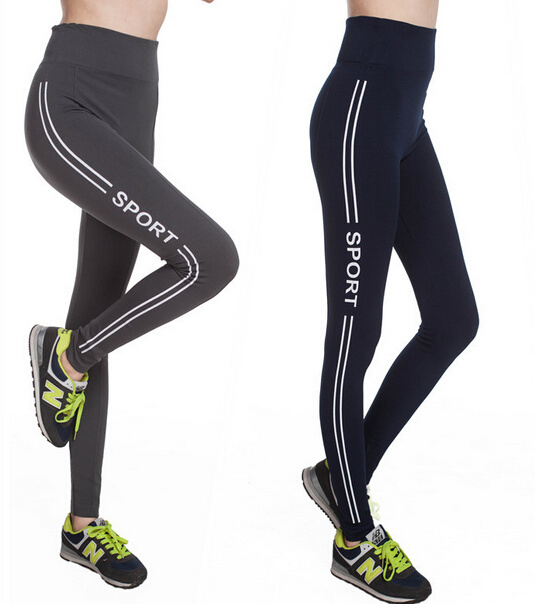New Style High Waist Seamless Printed Sport Yoga Leggings (83831)