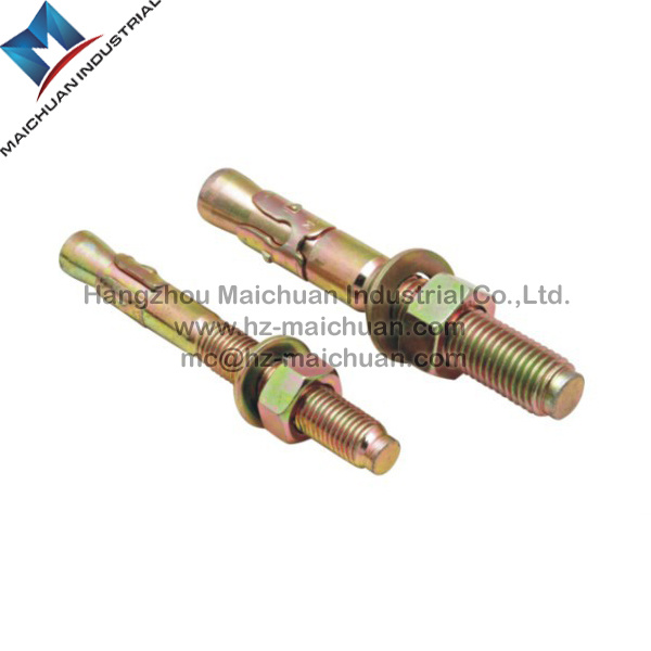 Stainless Steel Ss304/Ss316 with Steel Zinc Plated Hitli Anchor Bolt of Expansion Bolt Wedge Anchor Bolt (M6-M24)