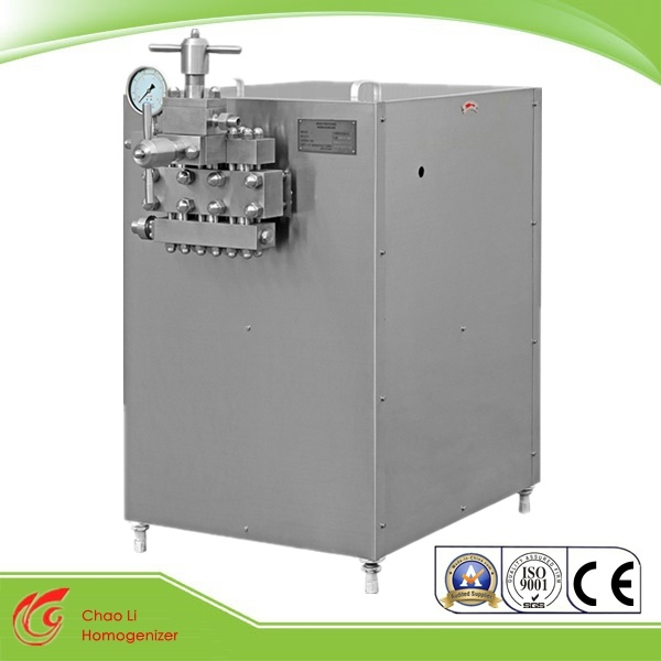 22kw 2stage High Pressure Homogenizer for Milk (GJB3000-25)