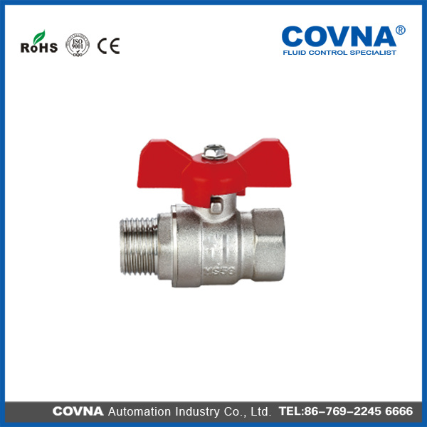 "3/4"" Covna Forged Brass Ball Valve with T Handle"