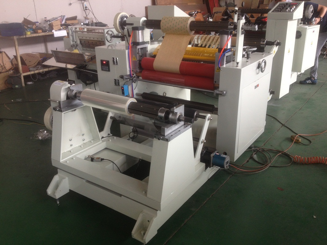 Automatic Slitting Slitter Rewiner Machine for Paper