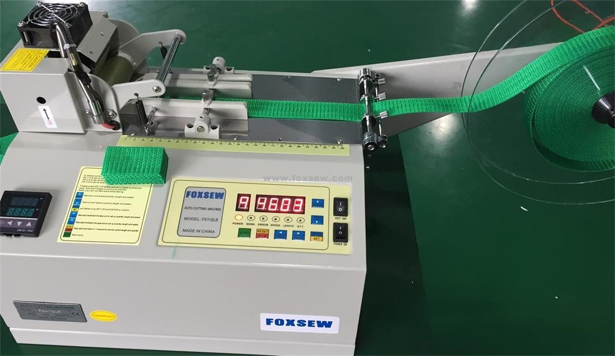 Automatic Webbing Cutter (Cold and Hot Knife)