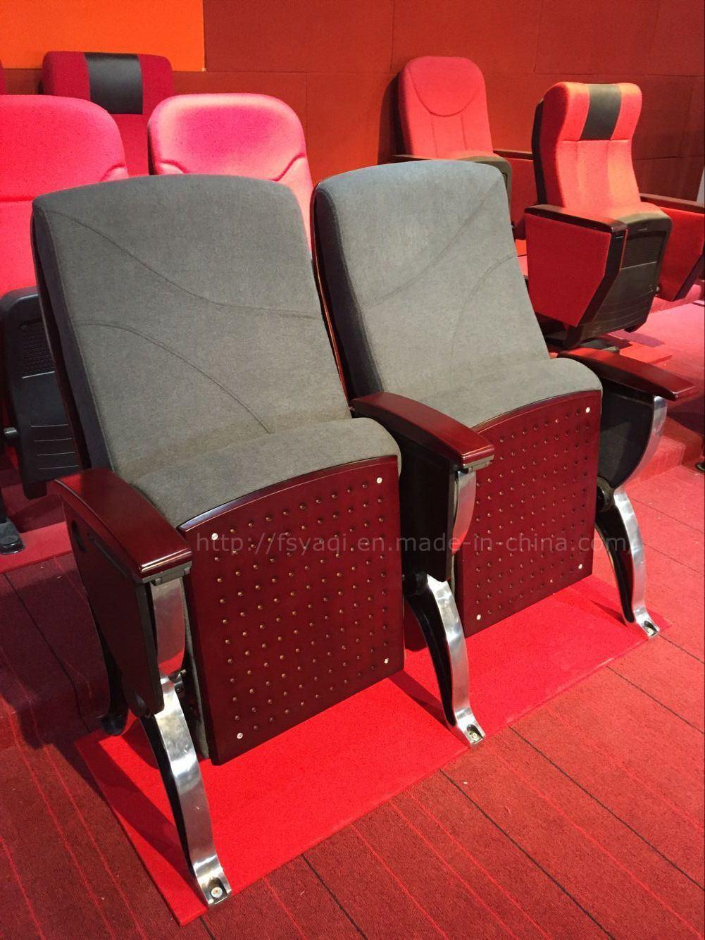 Elegant Style Aluminum Leg Lecture Hall Auditorium Chair (YA-819)