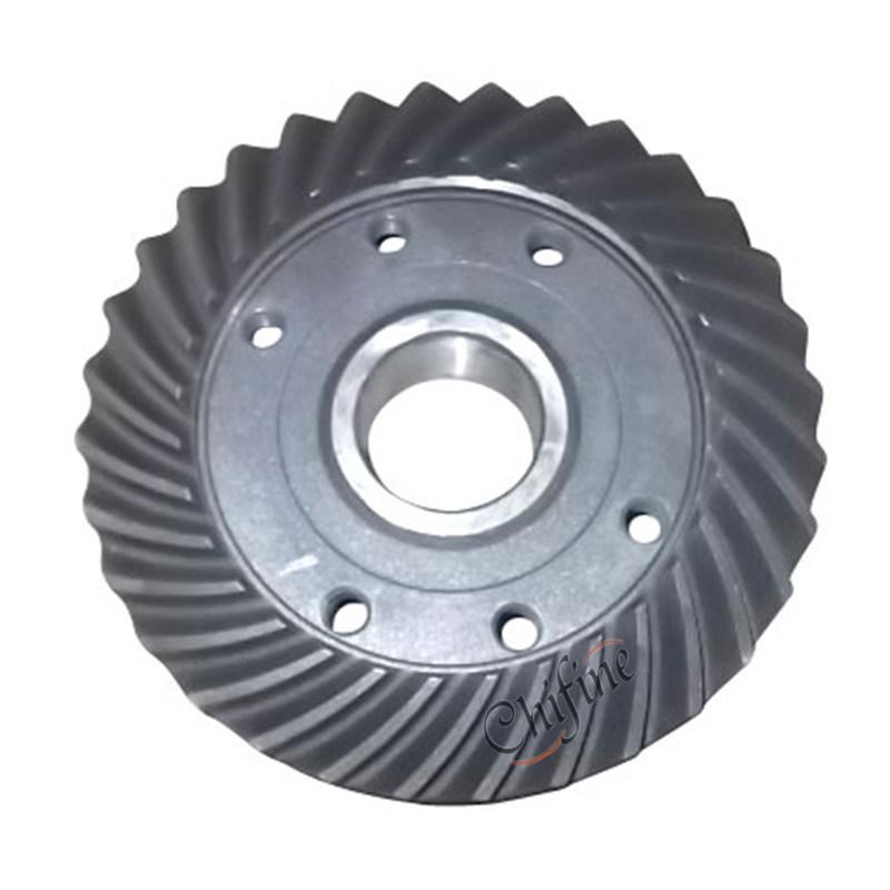 Car Gear Axle Spiral Bevel Drive Gear