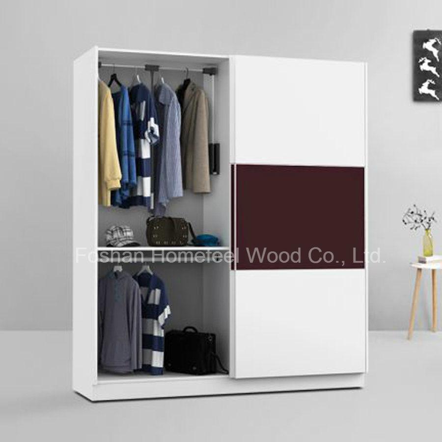 High Quality Wooden Modular Sliding Door Wardrobe (HF-DA009)