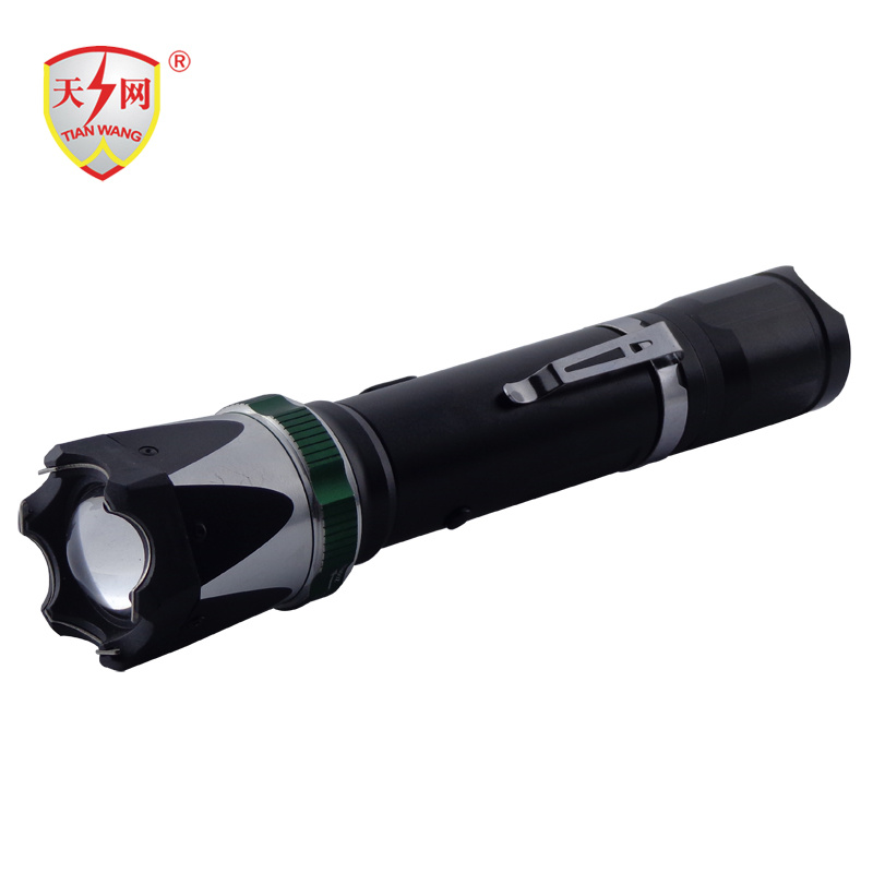 2016 New High Voltage Zoomable Flashlight Stun Guns with Belt Clip Stun Guns