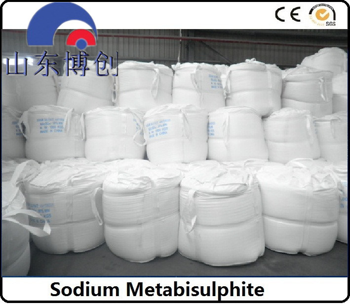 97% Min Food Grade and Industrial Grade Sodium Metabisulfite