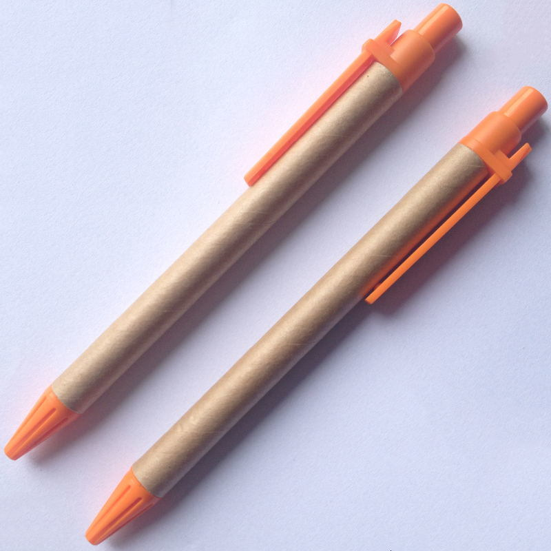 Cheap Paper Pen Small Quantity Promotional Pen Eco Pen (E1001)