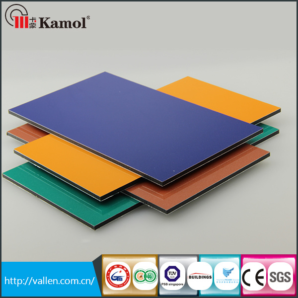 PE Aluminium Plastic Composite Panel for Interior Wall Cladding