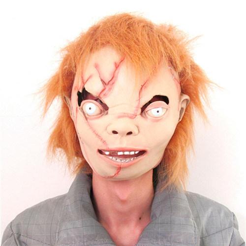 Halloween Dance Party Bar Cos Super Horror Grimace Movie Zombie Horror Mask