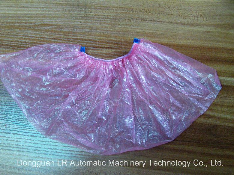 Automatic Disposable Plastic Shoe Cover Making Machine