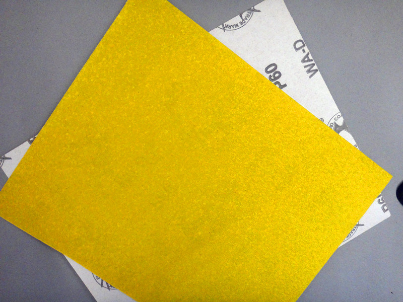 Aluminum Oxide D-Wt Craft Paper for Wood Polishing W-D 60#
