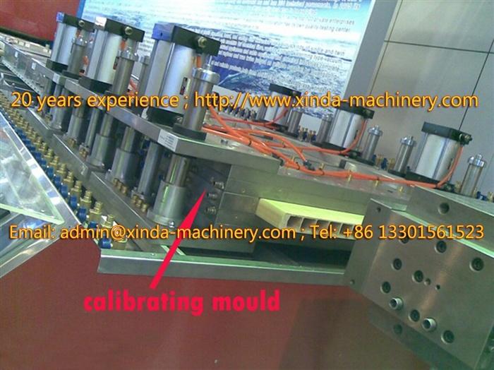 PVC/WPC Hollow Door Board Production Line