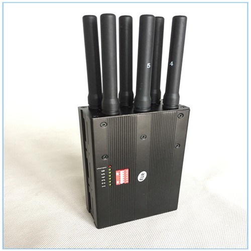 China Signal Jammer GPS WiFi 3G 4G Signal Jammer Blocker Lojack Jammer 6 Antennas Portable WiFi GSM Jammer - China Portable Cellphone Jammer, GPS Lojack Cellphone Jammer/Blocker