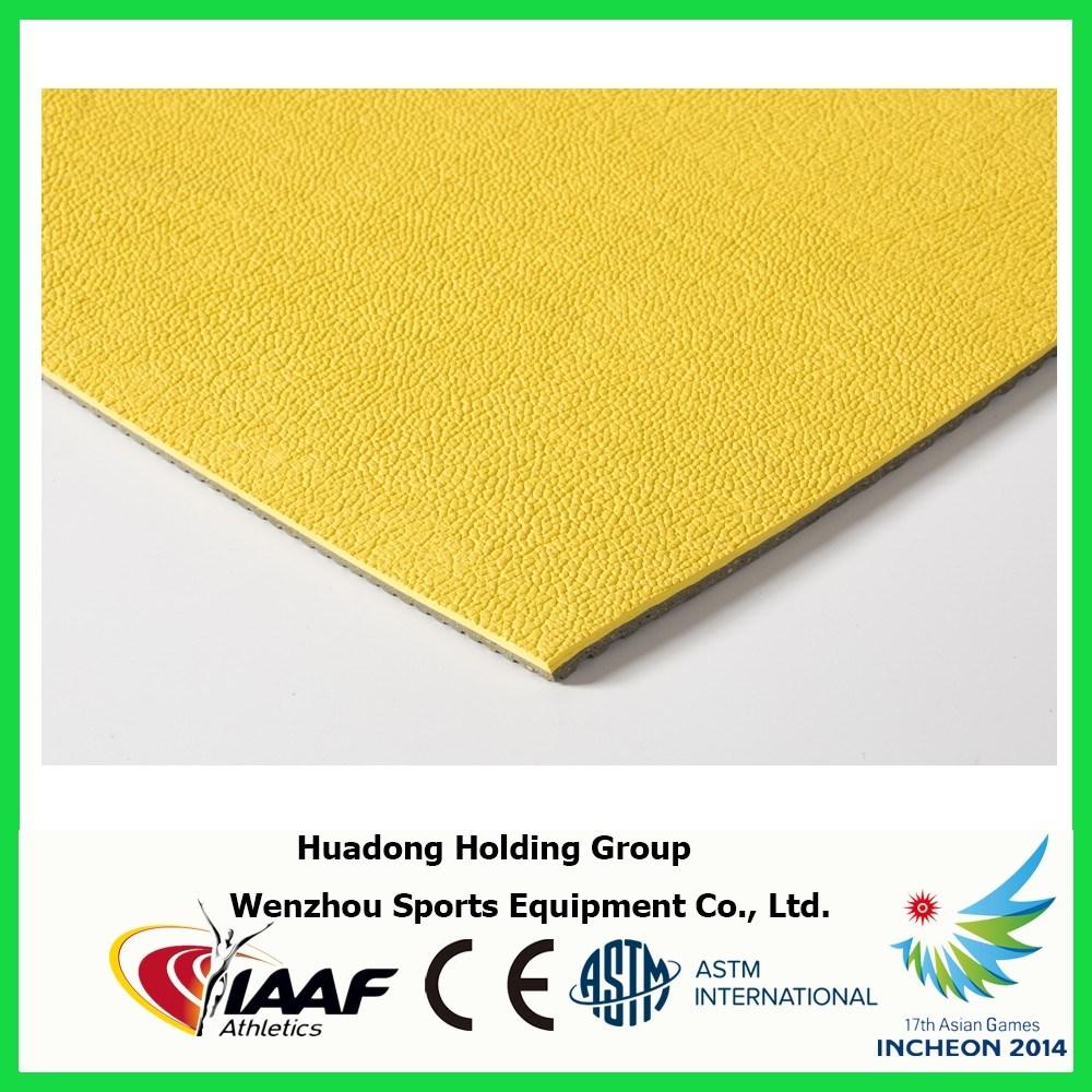Prefabricated Rubber Mat Sports Flooring for Badminton, Basketball, Volleyball, Tennis Court Mat