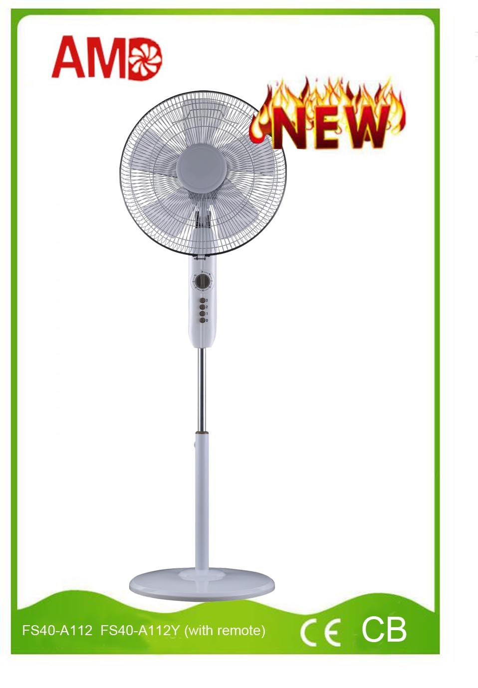 2016 New Design Stand Fan with CE Approved (FS40-A112)